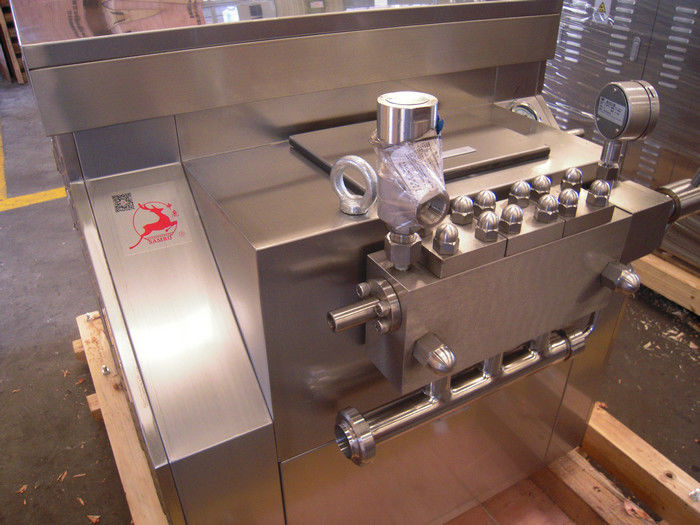 Durable Ice Cream Homogenizer Machine , Ultra High Pressure Homogenizer
