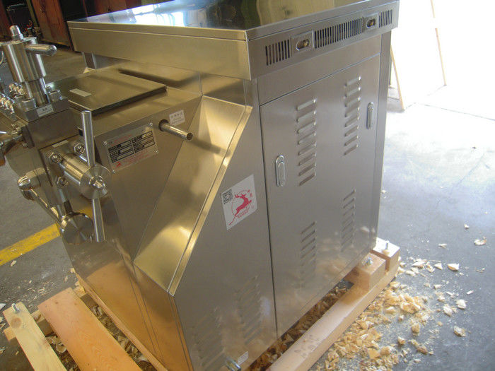 Two Stage Industrial Homogenizer With SUS304 Stainless Steel Shell